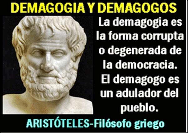 Resultado de imagen para político demagogo costa rica